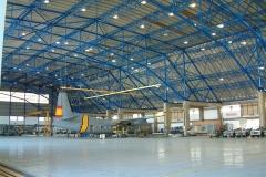 Cubierta de hangar