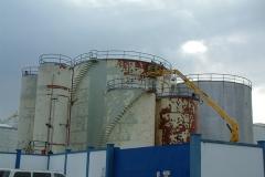Depósito hidrocarburo. Estado inicial