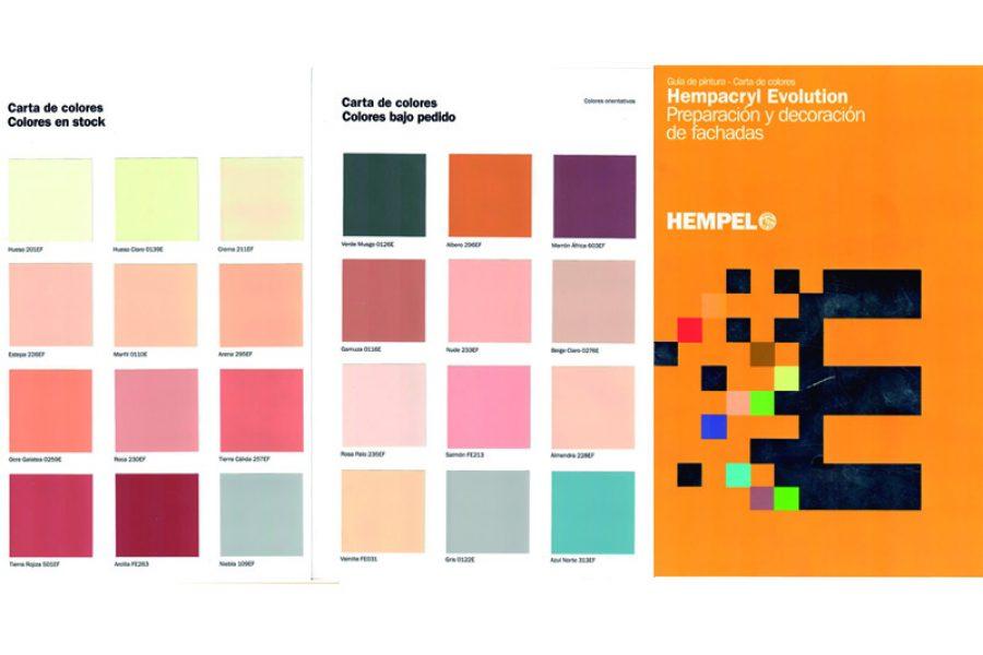 Cartas de color Hempel